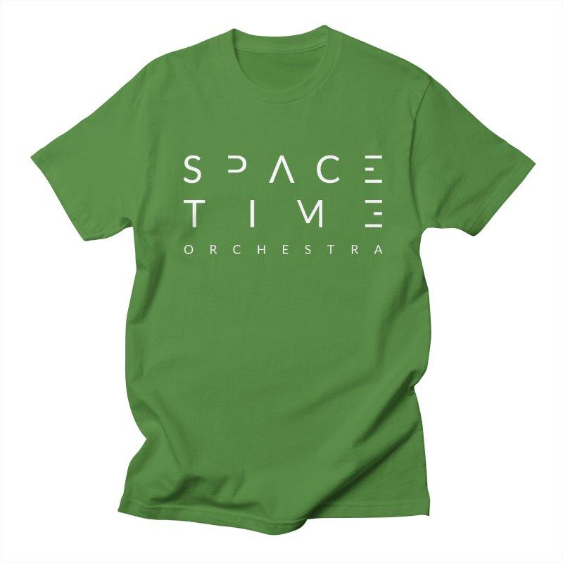 Spacetime Orchestra Logo Men's T-Shirt by The Spacetime Orchestra Emporium
