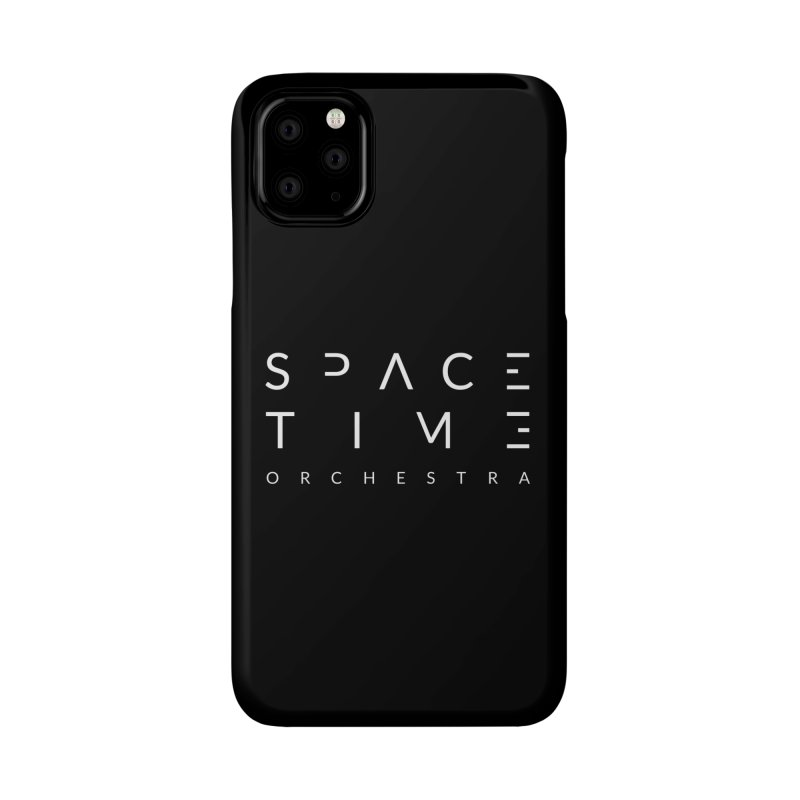 Spacetime Orchestra Logo Accessories Phone Case by The Spacetime Orchestra Emporium