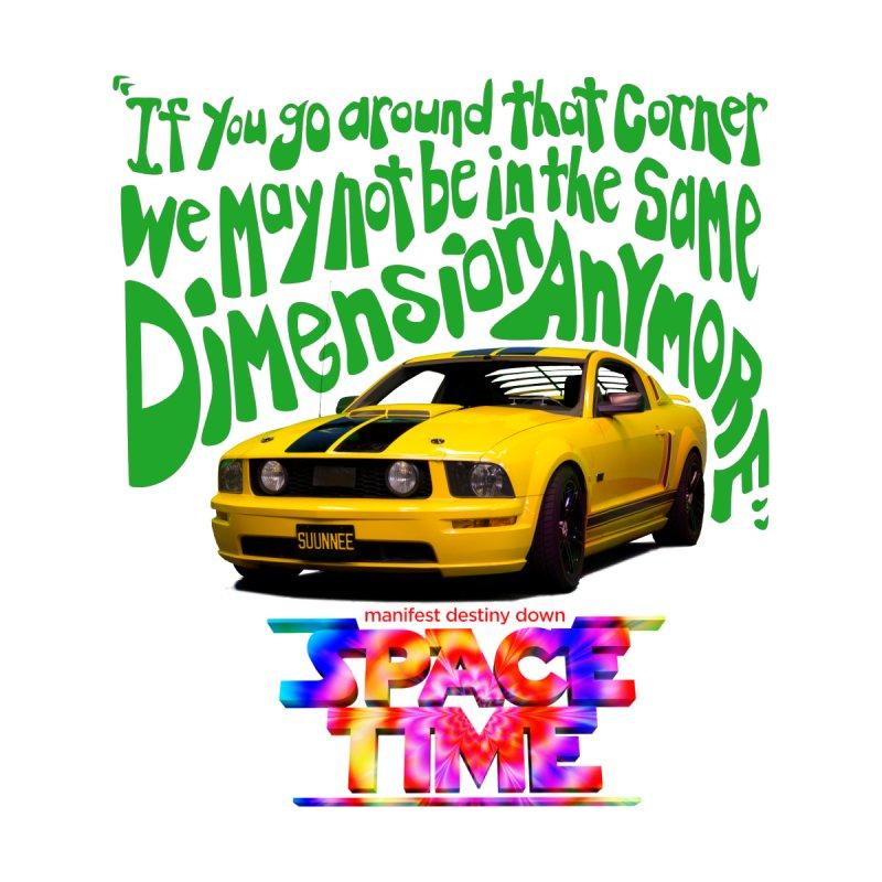 Space Time Car Dimension T-Shirt Women's T-Shirt by spacetimethemovie's Artist Shop