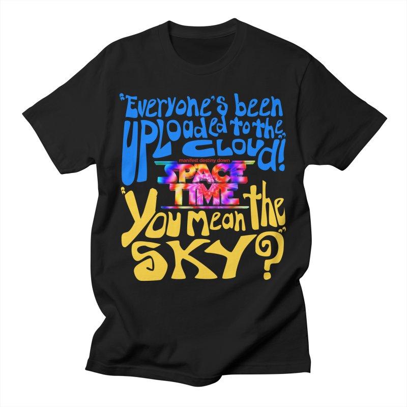 ST Text Cloud T-Shirt Men's T-Shirt by spacetimethemovie's Artist Shop