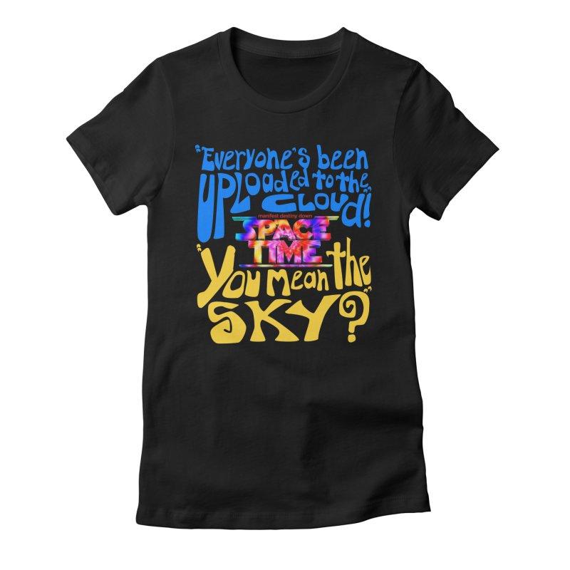 ST Text Cloud T-Shirt Women's T-Shirt by spacetimethemovie's Artist Shop