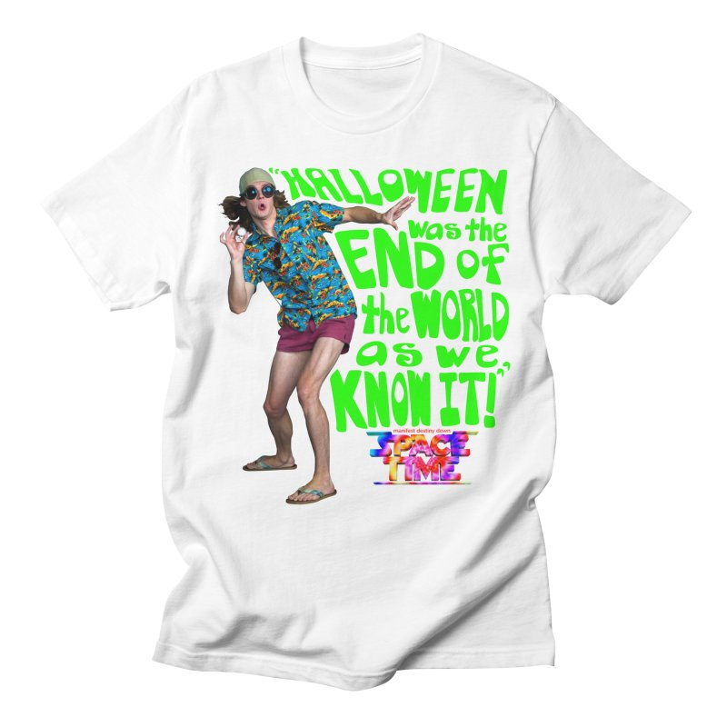 Space Time Toby Hallowen T-Shirt Men's T-Shirt by spacetimethemovie's Artist Shop