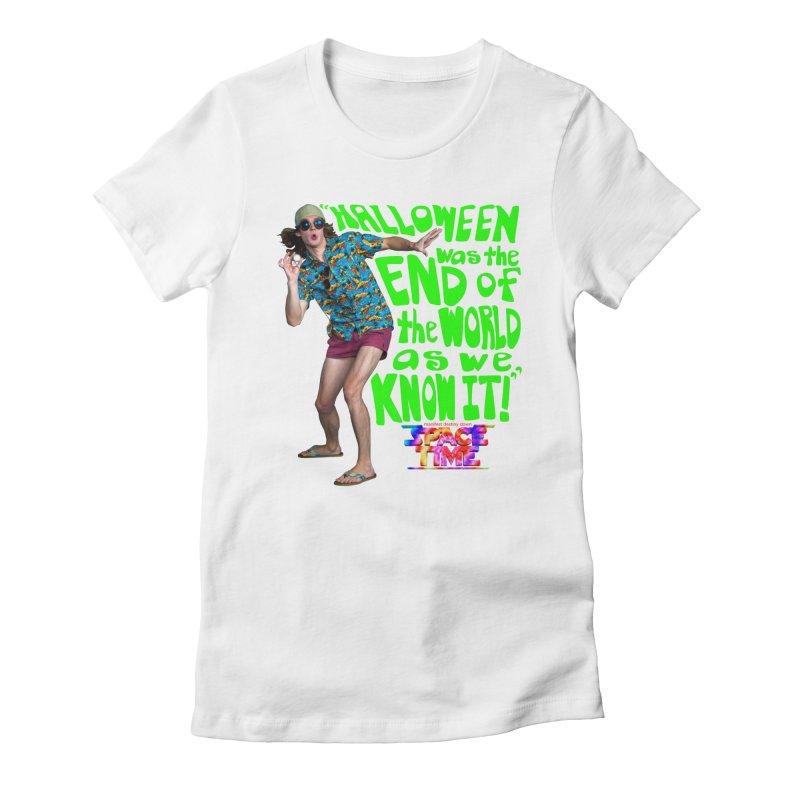 Space Time Toby Hallowen T-Shirt Women's T-Shirt by spacetimethemovie's Artist Shop