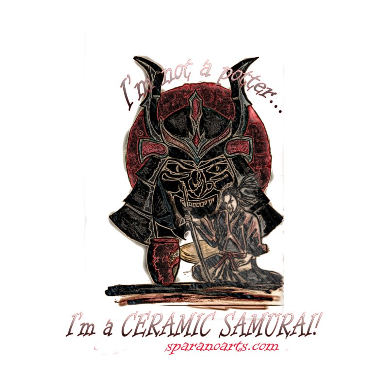 Ceramic Samurai by sparanoarts's Artist Shop