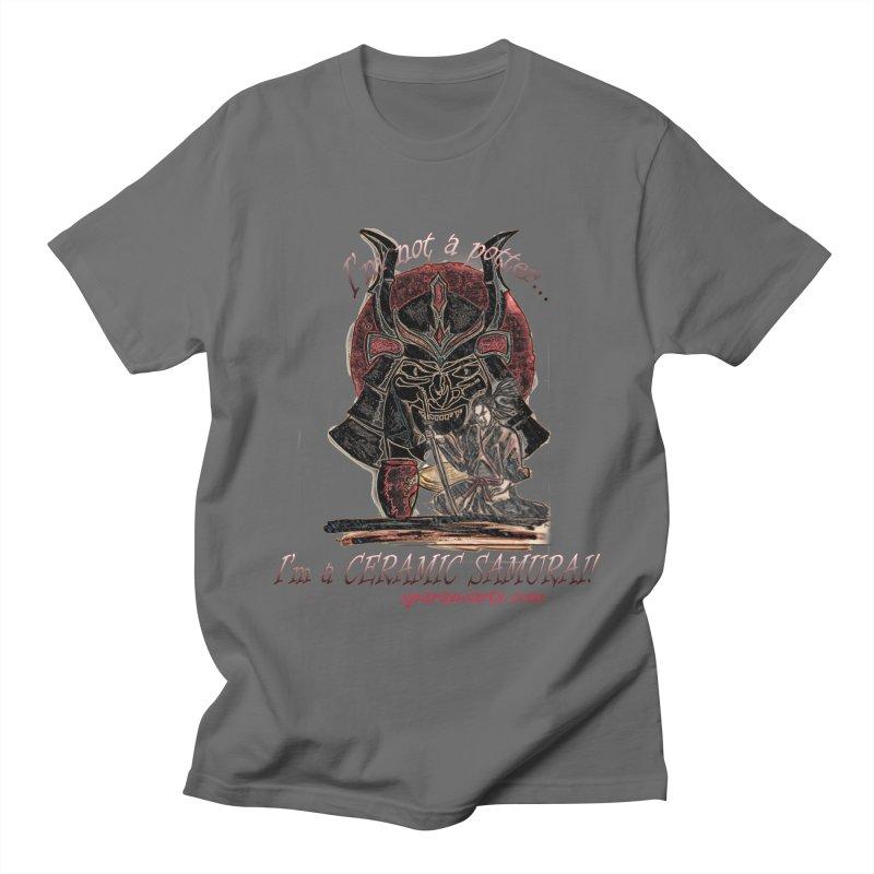 Ceramic Samurai Men's T-Shirt by sparanoarts's Artist Shop