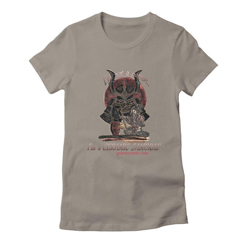 Ceramic Samurai Women's T-Shirt by sparanoarts's Artist Shop