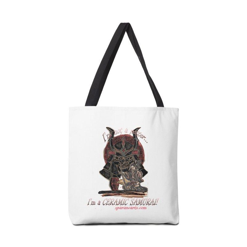 Ceramic Samurai Accessories Bag by sparanoarts's Artist Shop