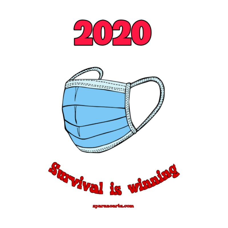 2020 Survival Accessories Zip Pouch by sparanoarts's Artist Shop