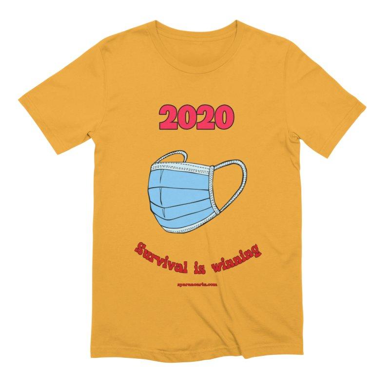 2020 Survival Men's T-Shirt by sparanoarts's Artist Shop