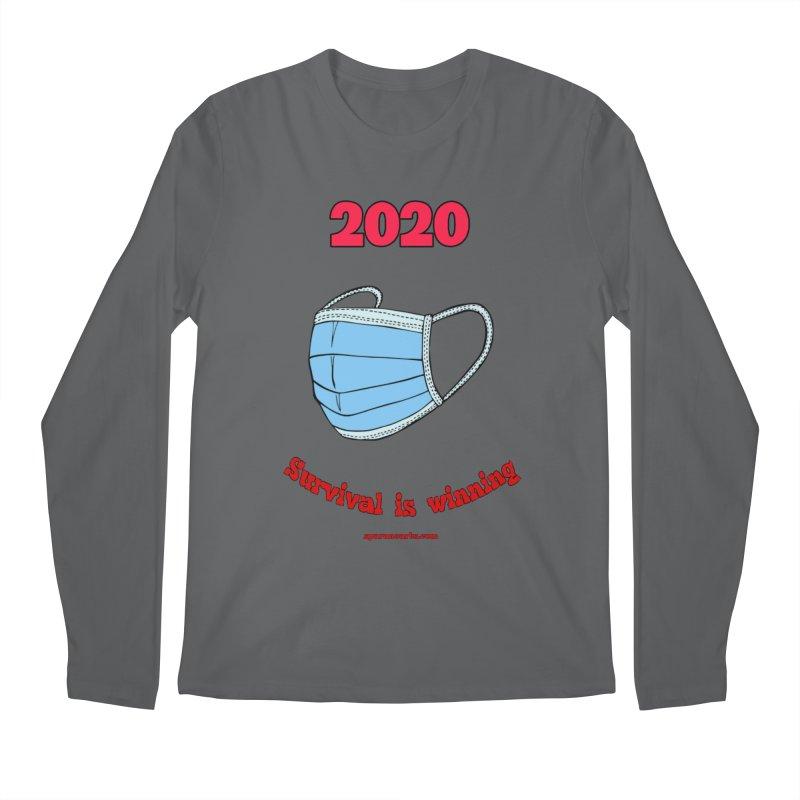2020 Survival Men's Longsleeve T-Shirt by sparanoarts's Artist Shop