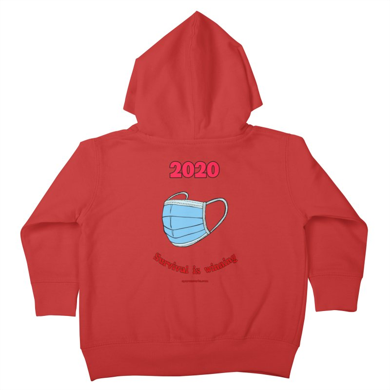 2020 Survival Kids Toddler Zip-Up Hoody by sparanoarts's Artist Shop