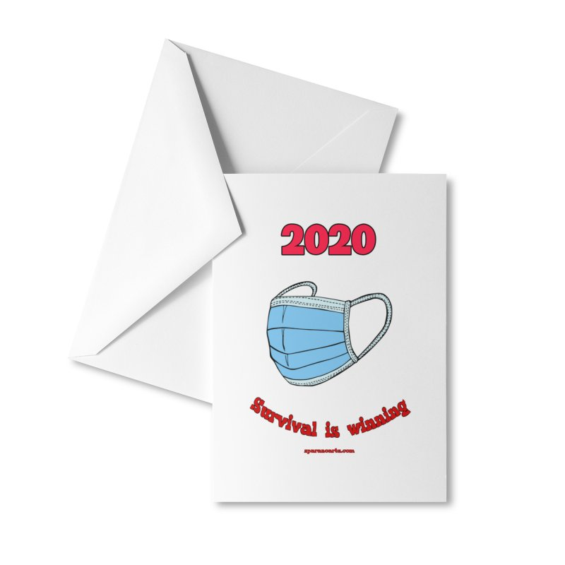 2020 Survival Accessories Greeting Card by sparanoarts's Artist Shop