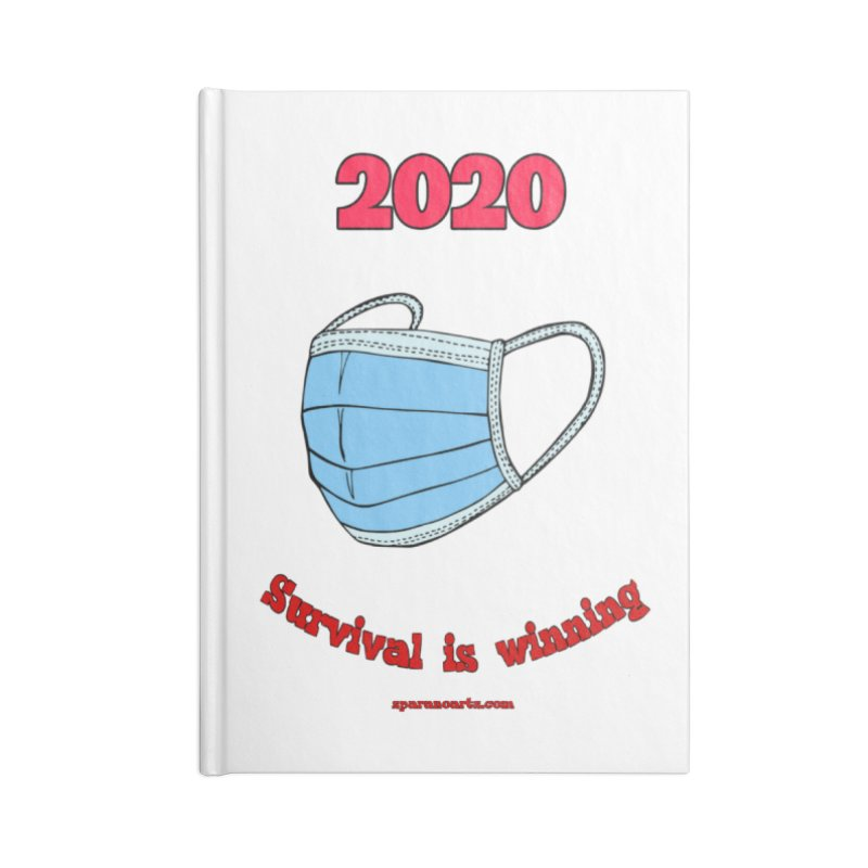 2020 Survival Accessories Notebook by sparanoarts's Artist Shop