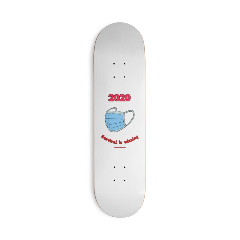 2020 Survival Accessories Skateboard by sparanoarts's Artist Shop