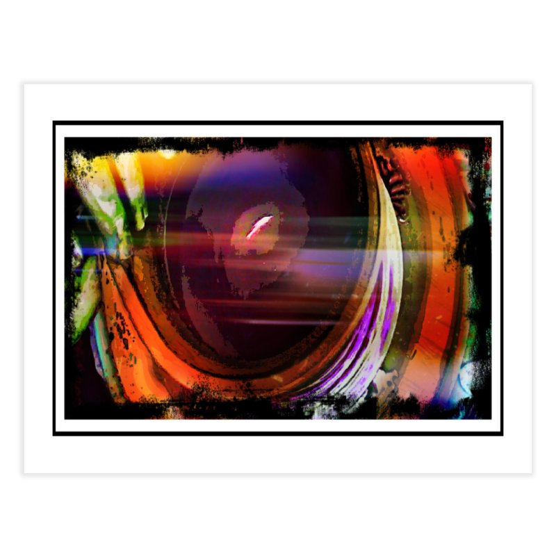 Psychedelic Wheel Throwing Home Fine Art Print by sparanoarts's Artist Shop