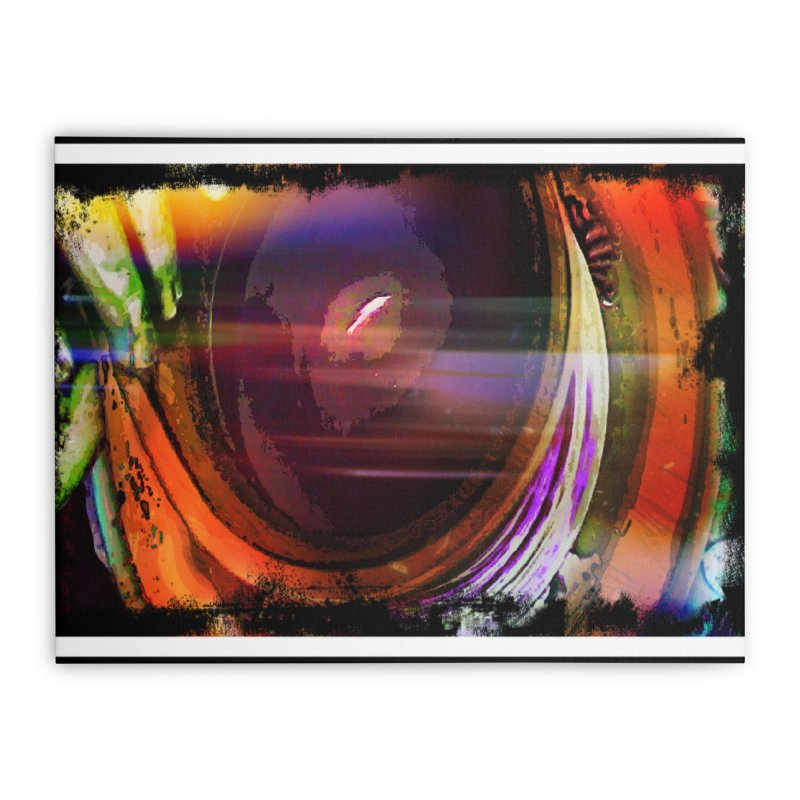 Psychedelic Wheel Throwing Home Stretched Canvas by sparanoarts's Artist Shop