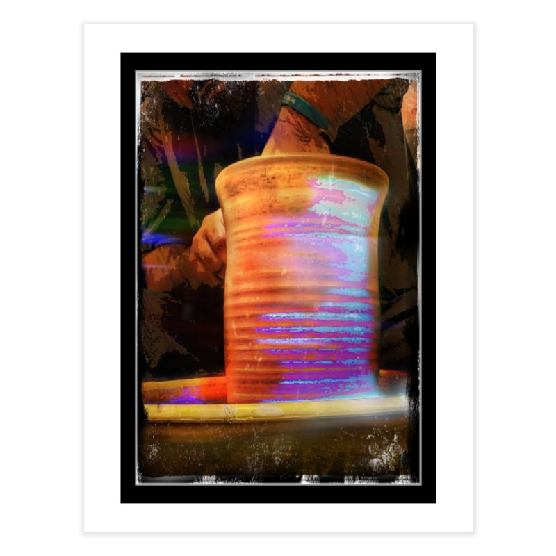 The potters spirit Home Fine Art Print by sparanoarts's Artist Shop