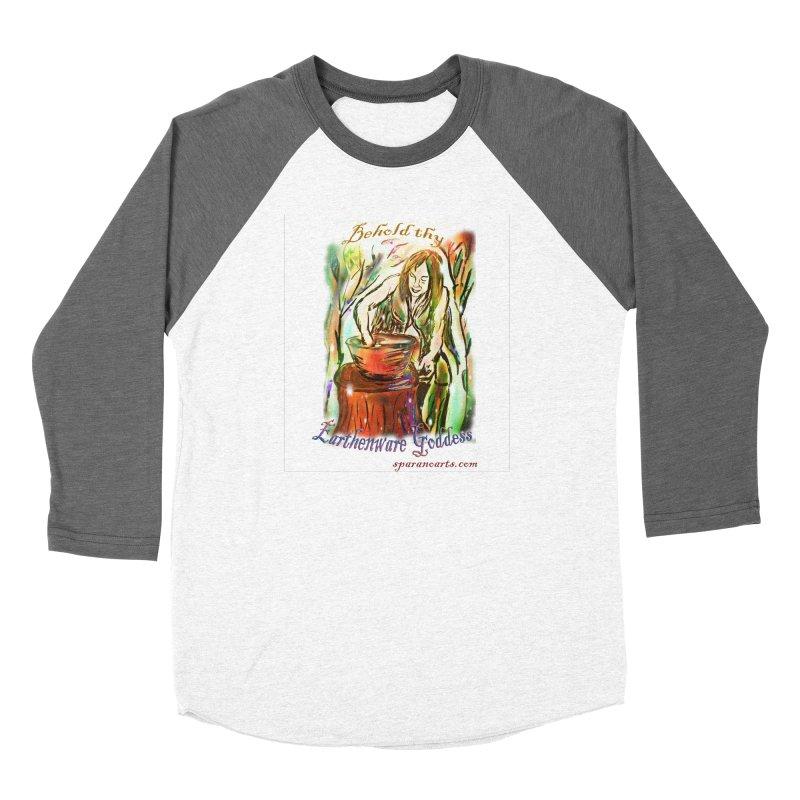 Earthenware Goddess Women's Longsleeve T-Shirt by sparanoarts's Artist Shop