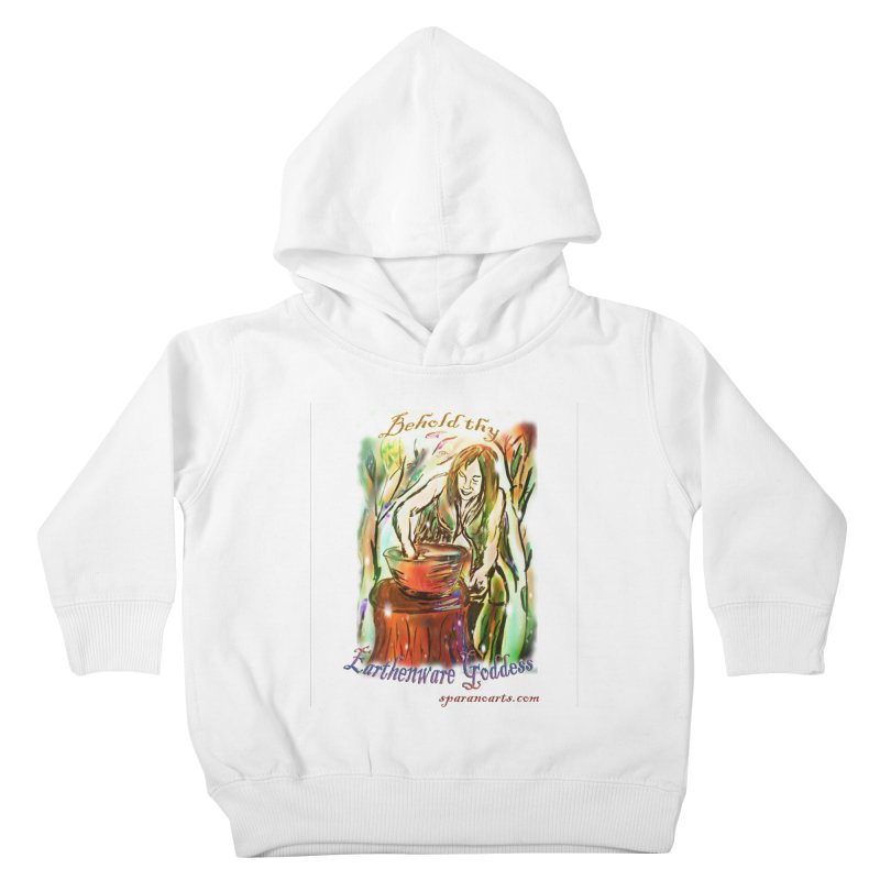 Earthenware Goddess Kids Toddler Pullover Hoody by sparanoarts's Artist Shop