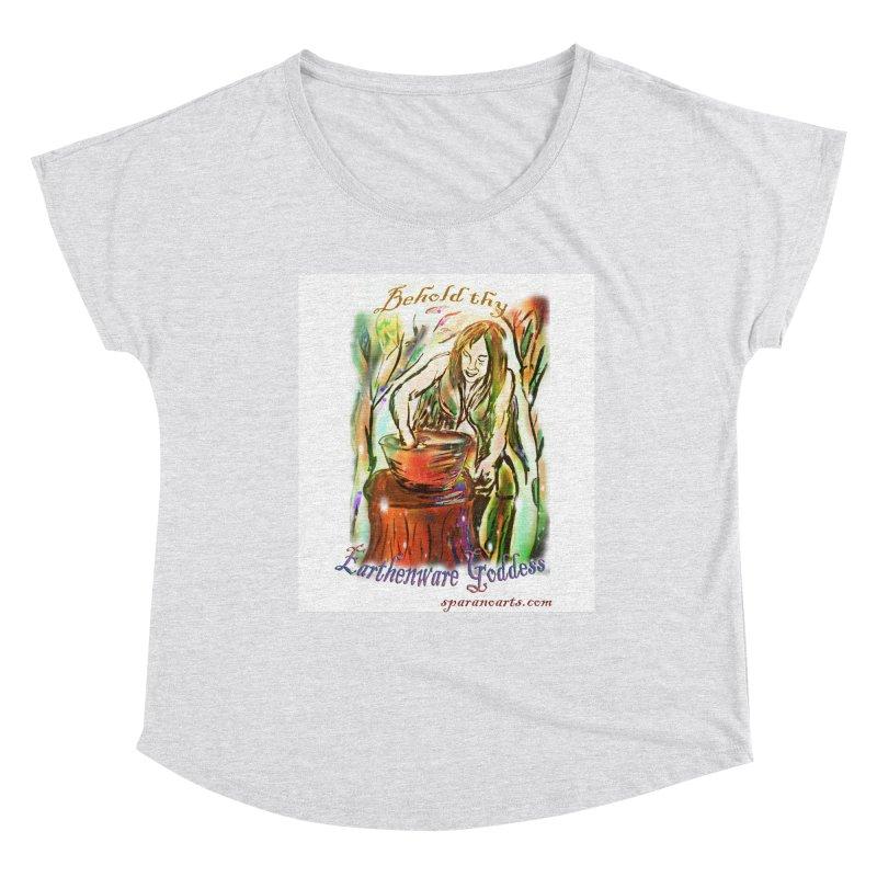 Earthenware Goddess Women's Scoop Neck by sparanoarts's Artist Shop