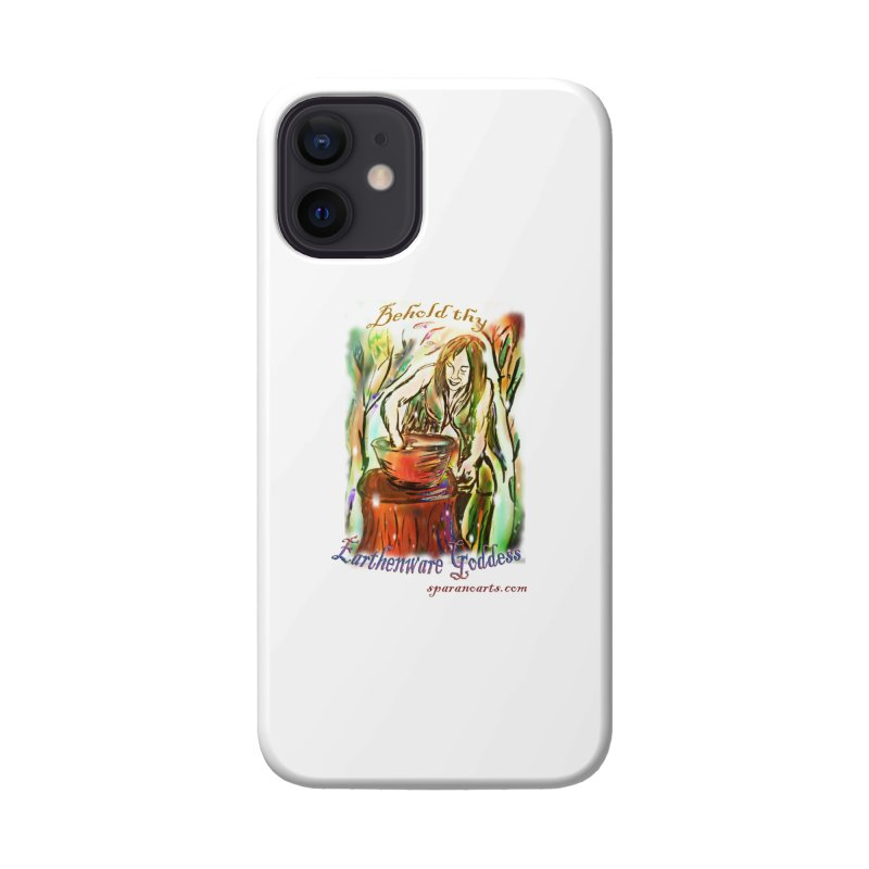 Earthenware Goddess Accessories Phone Case by sparanoarts's Artist Shop