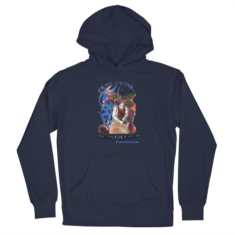 Stoneware Warrior Men's Pullover Hoody by sparanoarts's Artist Shop