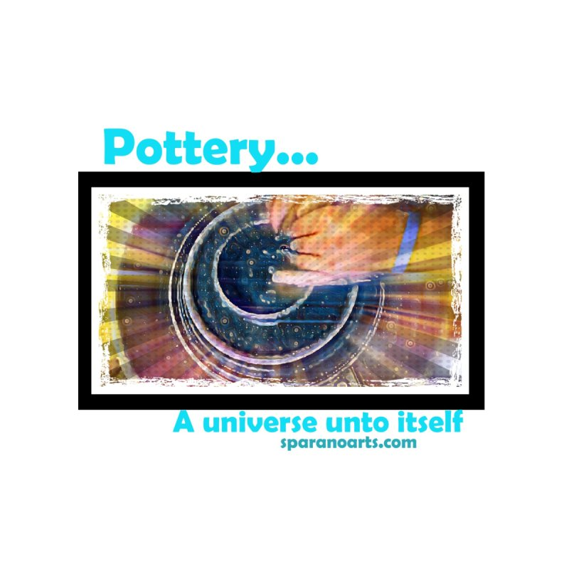 Pottery Universe Men's T-Shirt by sparanoarts's Artist Shop