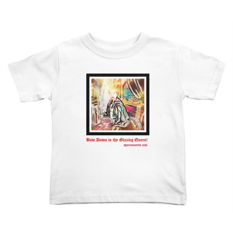 Glazing Queen Kids Toddler T-Shirt by sparanoarts's Artist Shop