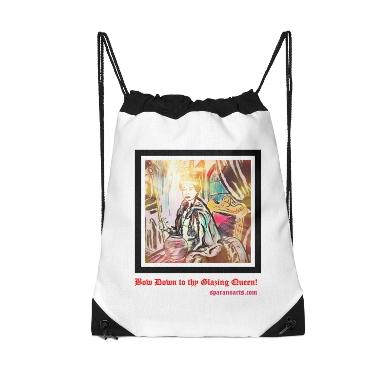 Glazing Queen Accessories Bag by sparanoarts's Artist Shop