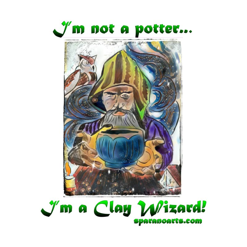 Clay Wizard Men's T-Shirt by sparanoarts's Artist Shop
