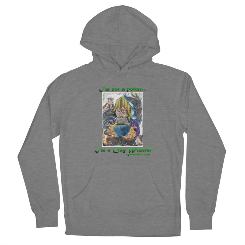 Clay Wizard Women's Pullover Hoody by sparanoarts's Artist Shop