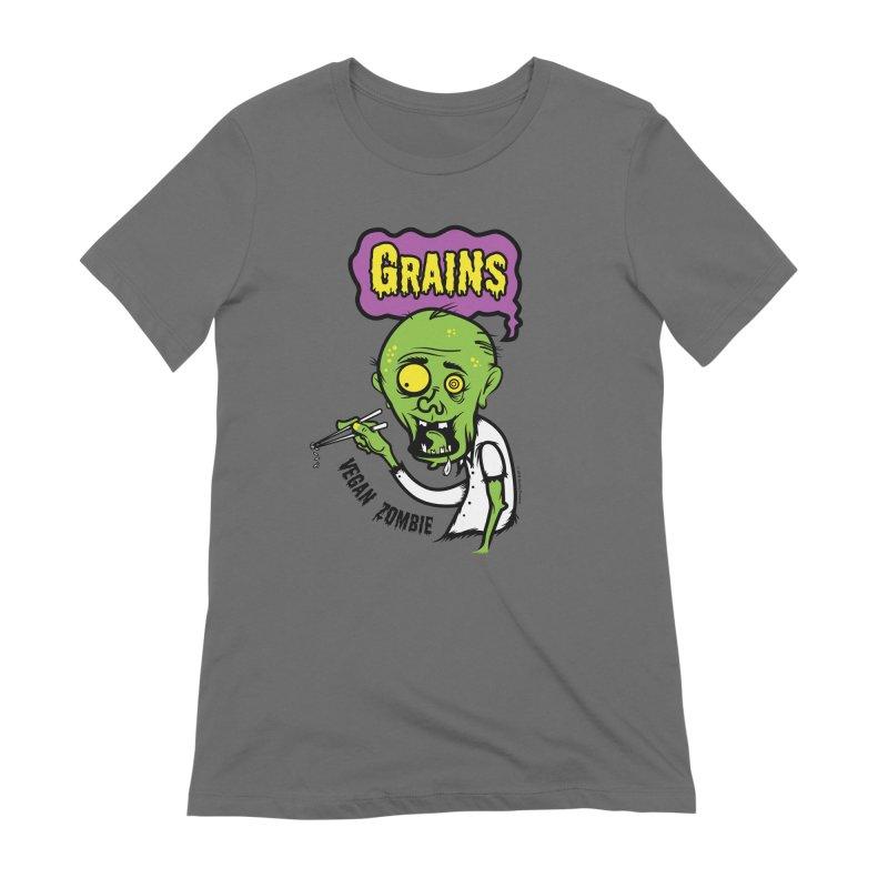Vegan Zombie Women's T-Shirt by It's Just DJ