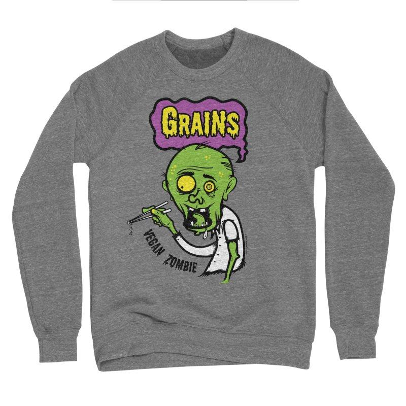 Vegan Zombie Men's Sweatshirt by It's Just DJ