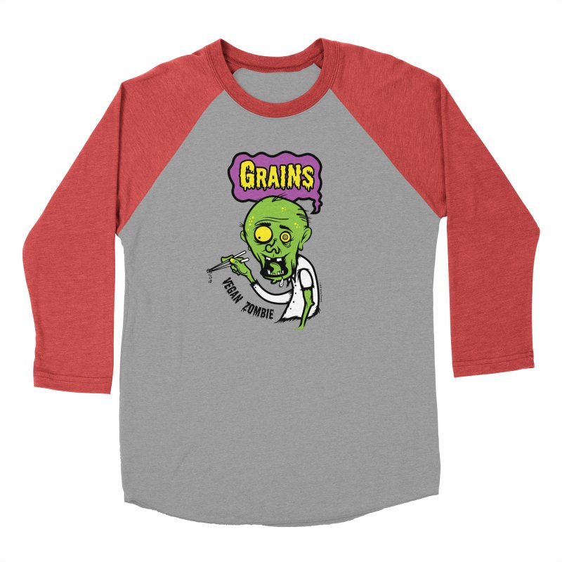 Vegan Zombie Men's Longsleeve T-Shirt by It's Just DJ
