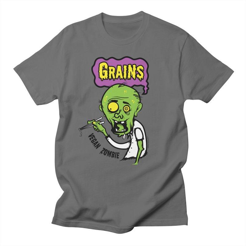 Vegan Zombie Men's T-Shirt by It's Just DJ