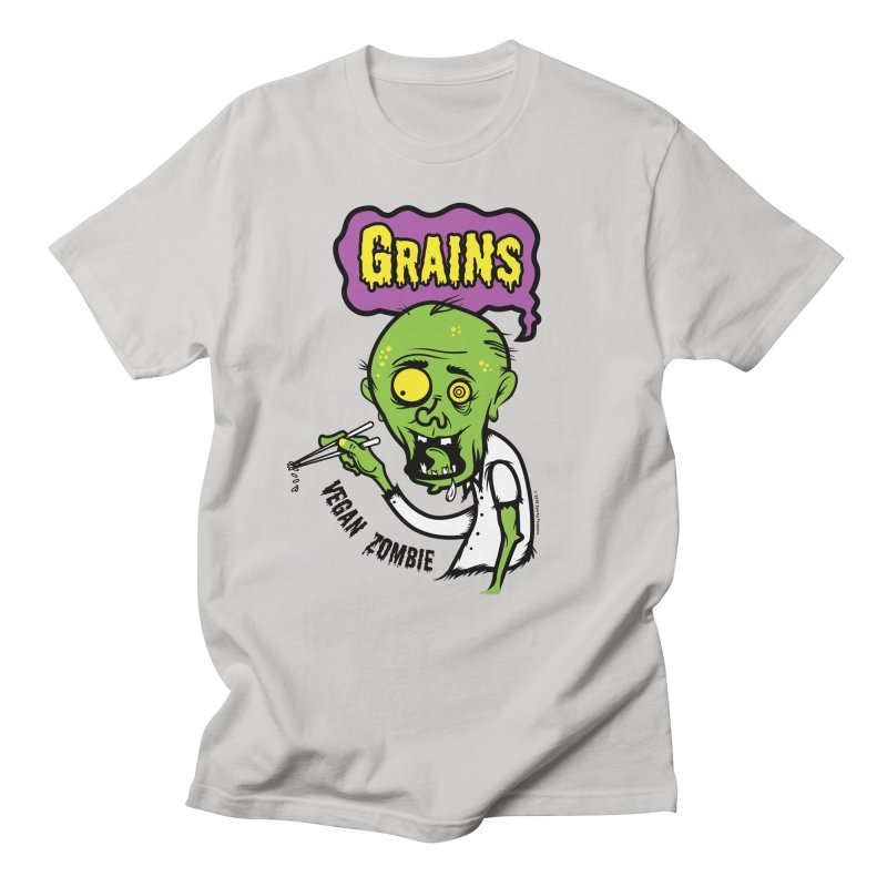Vegan Zombie Men's T-Shirt by It's Just DJ