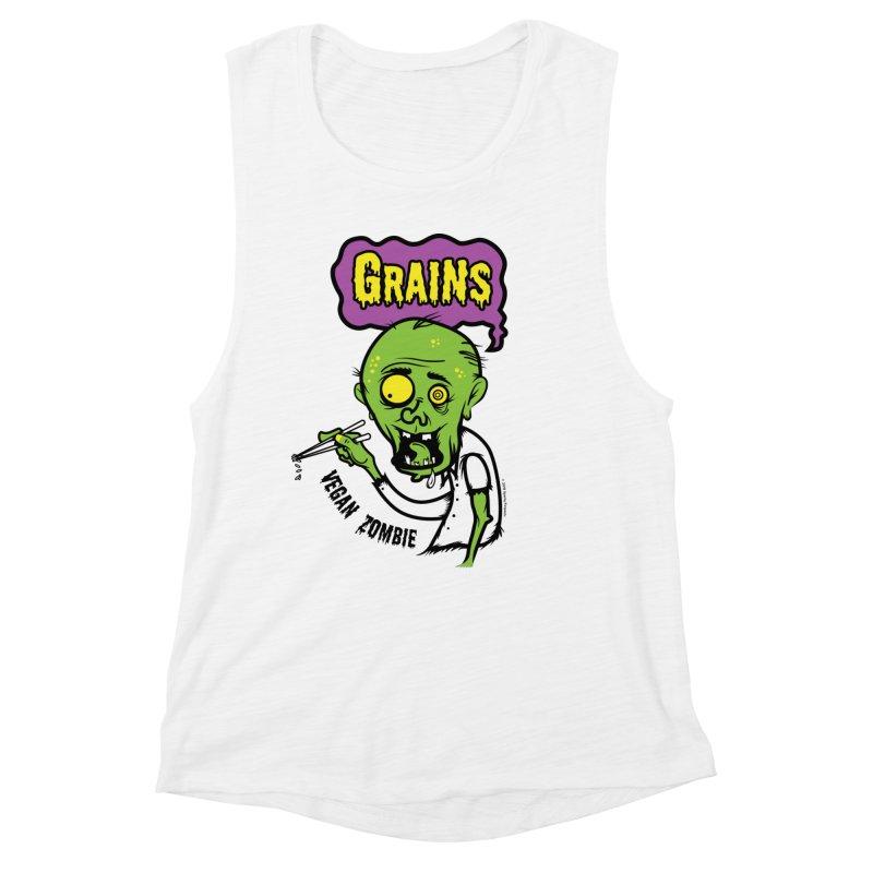 Vegan Zombie Women's Tank by It's Just DJ
