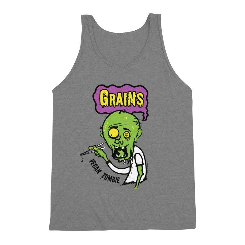 Vegan Zombie Men's Tank by It's Just DJ