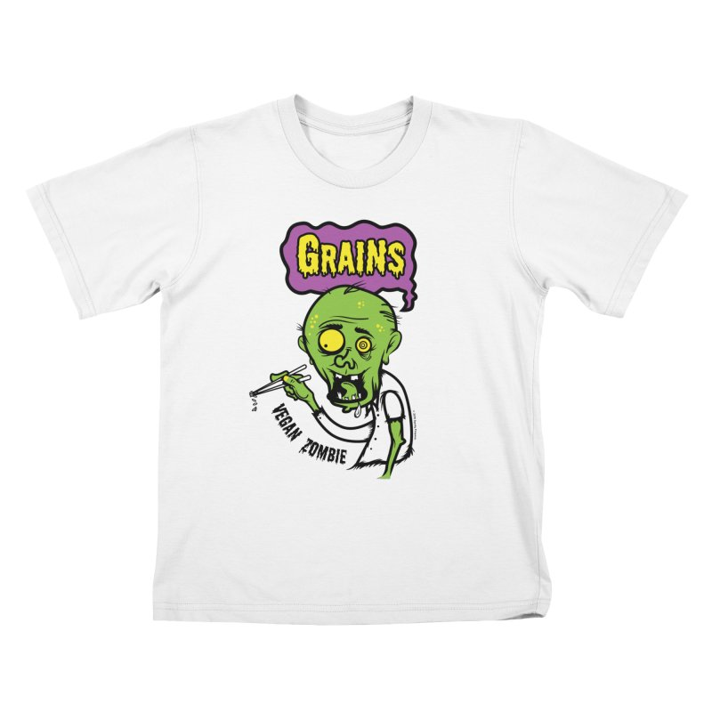 Vegan Zombie Kids T-Shirt by It's Just DJ