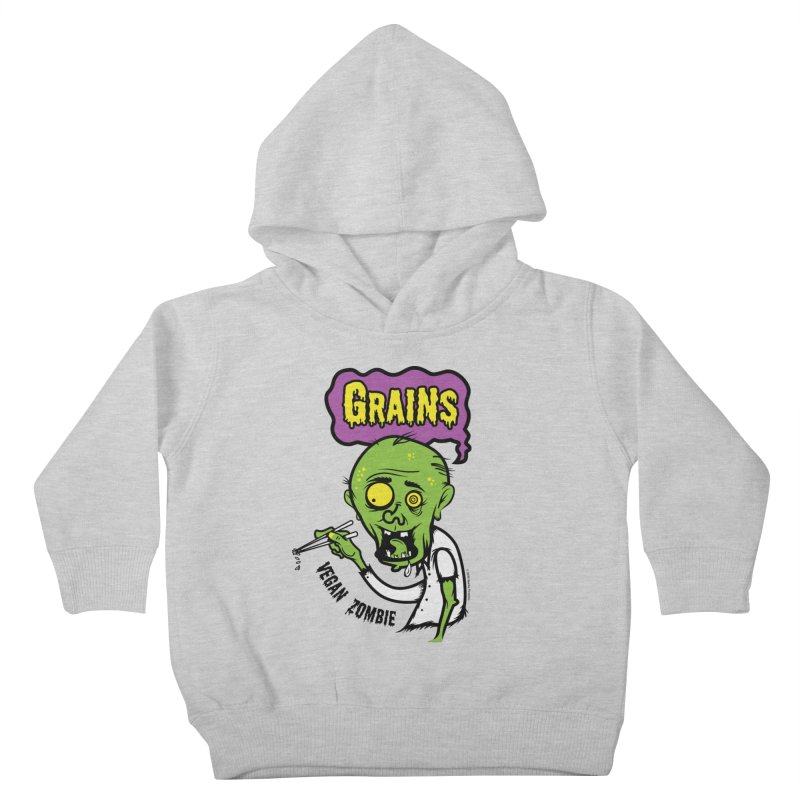 Vegan Zombie Kids Toddler Pullover Hoody by It's Just DJ