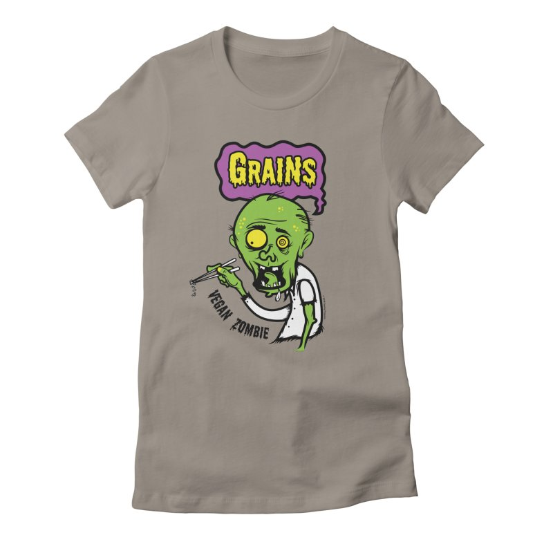 Vegan Zombie Women's T-Shirt by It's Just DJ