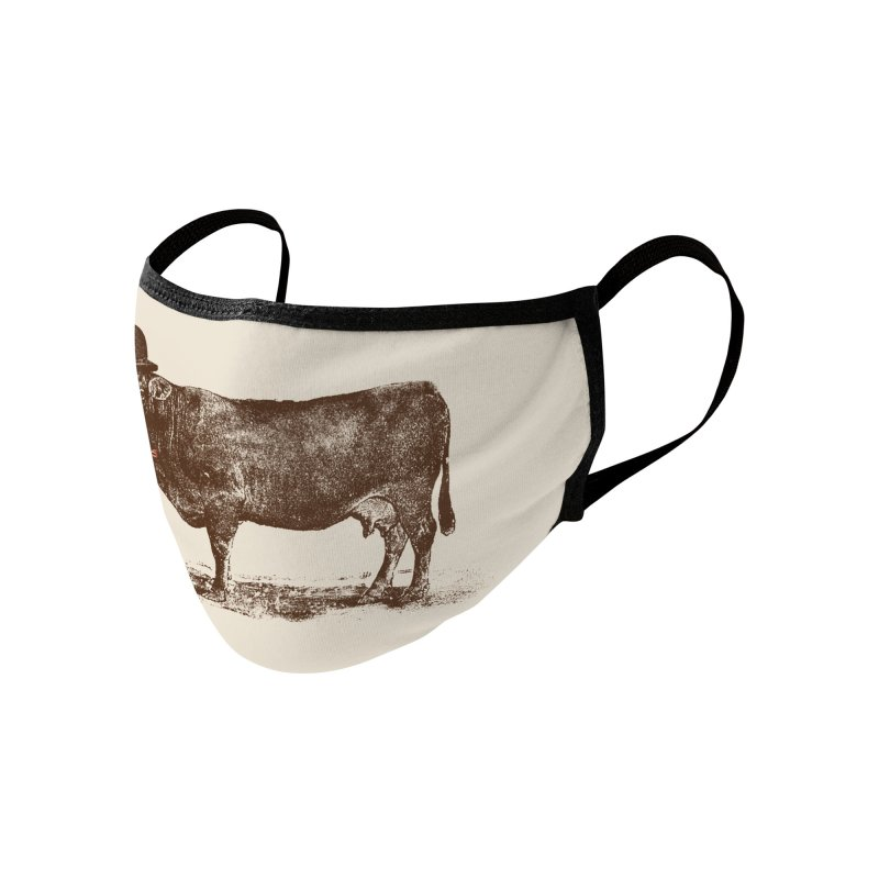 Cow Cow Nut Accessories Face Mask by Speakerine / Florent Bodart