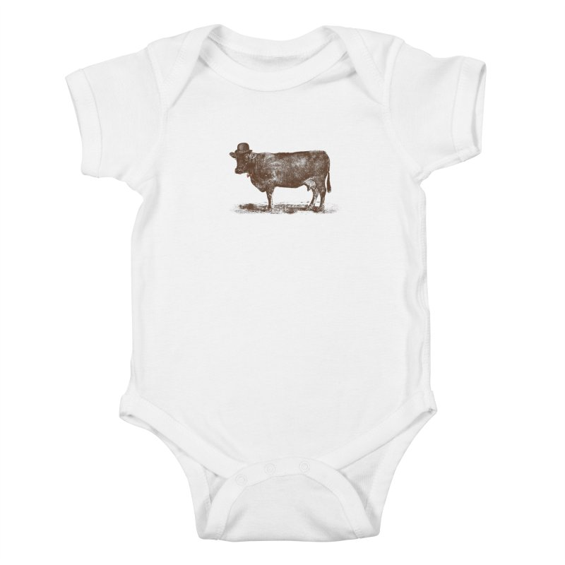 Cow Cow Nut Kids Baby Bodysuit by Speakerine / Florent Bodart