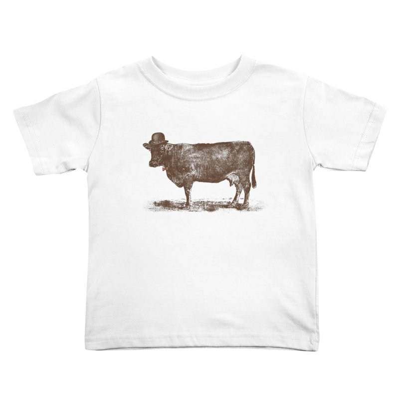 Cow Cow Nut Kids Toddler T-Shirt by Speakerine / Florent Bodart