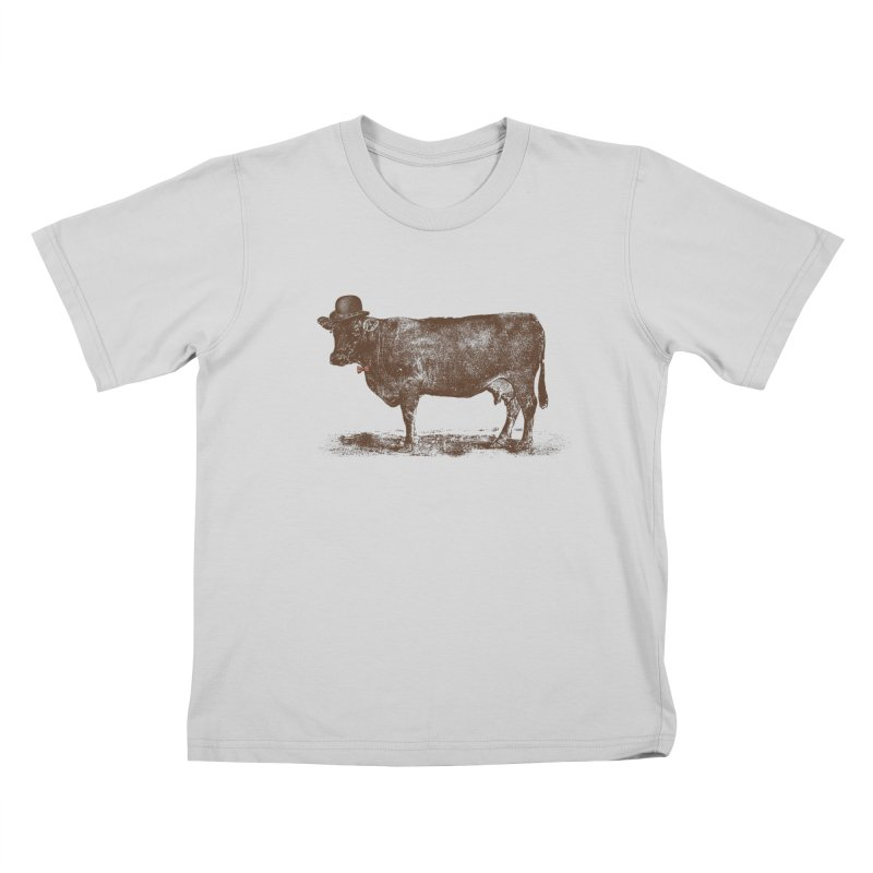 Cow Cow Nut Kids T-Shirt by Speakerine / Florent Bodart