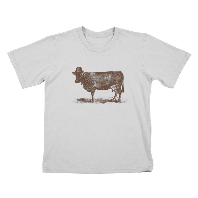 Cow Cow Nut Kids T-Shirt by Speakerine / Florent Bodart