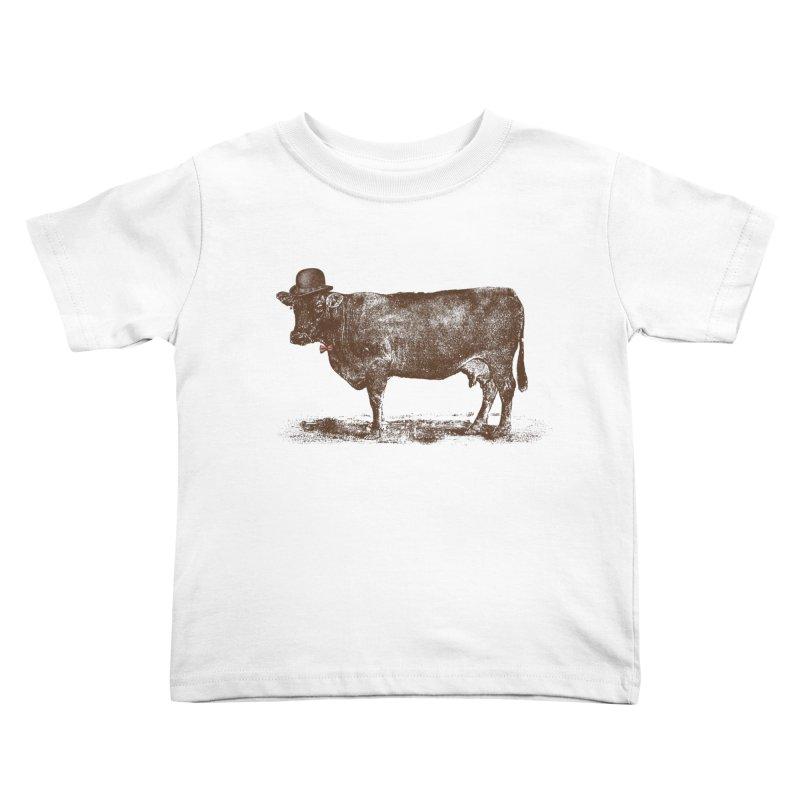 Cow Cow Nut Kids Toddler T-Shirt by Speakerine / Florent Bodart