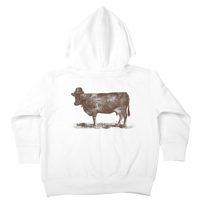 Cow Cow Nut Kids Toddler Zip-Up Hoody by Speakerine / Florent Bodart