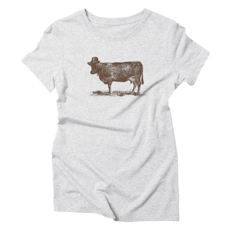 Cow Cow Nut Women's Triblend T-Shirt by Speakerine / Florent Bodart