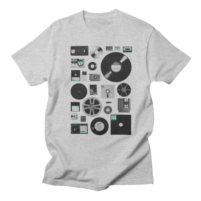 Data Men's Regular T-Shirt by Speakerine / Florent Bodart